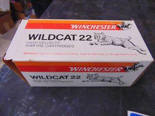 500 Rounds Winchester Wildcat 22 lR