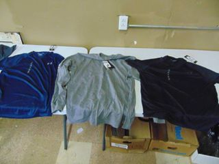 3   Mens large Shirts   2 Under Armour