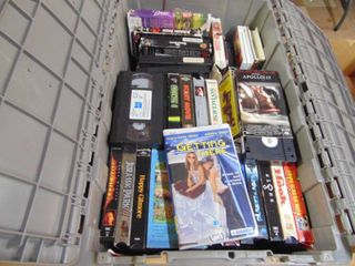 40  VCR Tapes   Vintage Movies