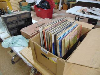 Vintage Country Record Albums