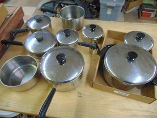 Revere Skillet s and Pans set