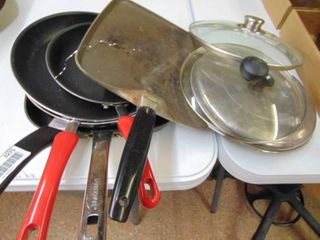 Miscellaneous lot of Skillets