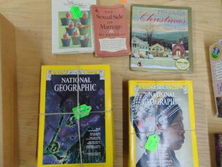 National Geographic magazines and More