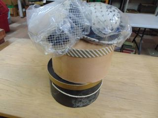 2 Hat Boxes and Several womens hats