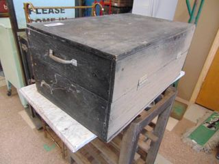 Wooden Tool Chest   No latch