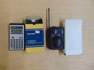 Radio shack Calculator and Radio