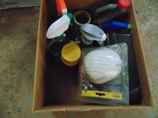 Cleaning Supplies and Giant Foam