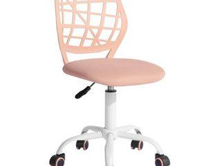 FurnitureR Swivel Mesh Office Chair Task Chair Carnation  Multiple Colors