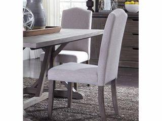 Caroline lakes Upholstered Parson Dinette Chair  Set of 2