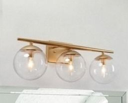 Modern Elegent 3 light bath light
