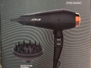 JOYYUM Professional Hair Dryer 1875W Salon Performance AC Motor Ions Hair Blow Dryer