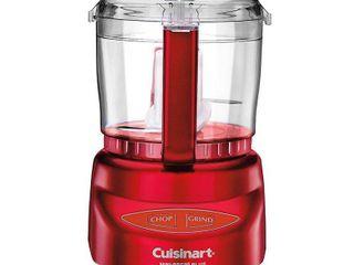 Cuisinart Mini Prep Plus Food Processor   Red