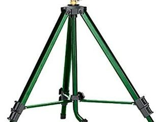 Orbit 58308Z Brass Impact Sprinkler on Tripod Base  Green