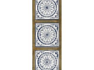 Stratton Home Decor Mykonos Medallion Panel Wall DAccor