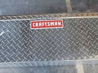 CRAFTSMAN 61 5 in x 12 in x 12 in Brite Aluminum Crossover Truck Tool Box