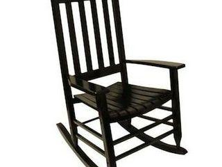 Garden Treasures Black 31 97in Children Rocking Chair