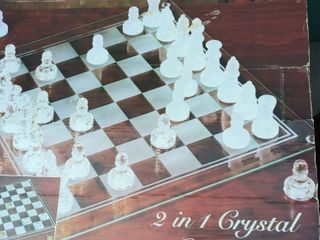Imperial Crystal Chess Set