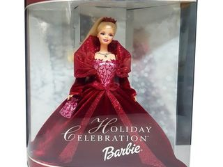 2002 Holiday Celebration Barbie Doll Special Edition