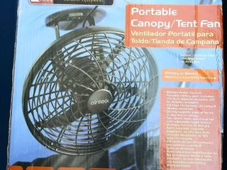 Ozark Trail O2 Cool Portable Canopy Tent Fan