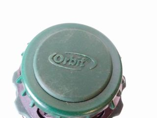 Orbit water sprinkler black and green