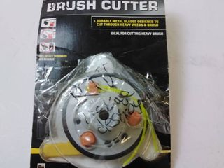 Rino Tuff 3 Blade Brush Cutter Head for Gas Trimmers