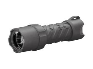 Coast Polysteel 400R 400 lumen Rechargeable Waterproof lED Flashlight with Twist Focus  Gun metal