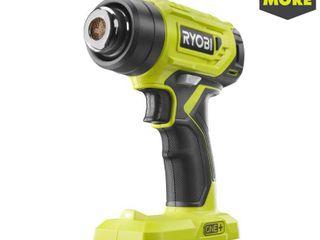 RYOBI 18 Volt ONE  lithium Ion Cordless Heat Gun  Tool Only