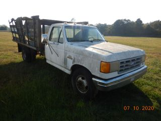 FALL CONTRACTORS AUCTION - Truck and Trailer Day