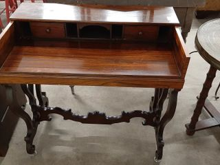 ROSEWOOD SPINET DESK 30  X 17