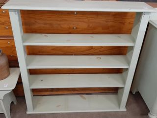 WOODEN BOOKCASE 42  9  X 41  H