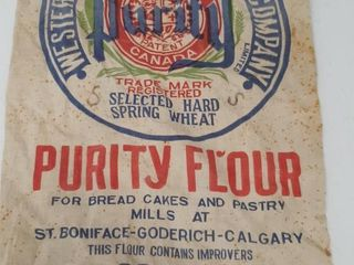 WESTERN CANADA FlOUR MIllS CO PURITY FlOOR BAG