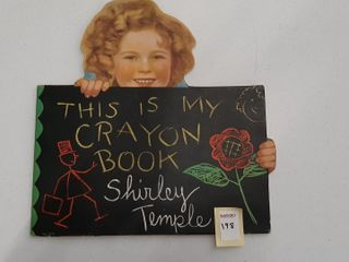 SHIRlEY TEMPlE COlOURING BOOK