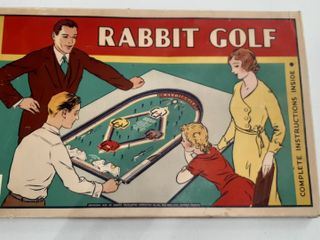 RABBIT GOlF GAME
