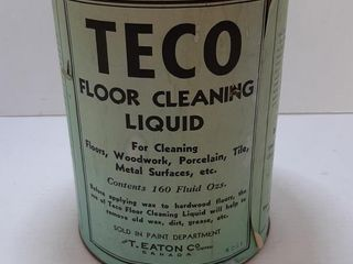 TECO FlOOR ClEANING TIN