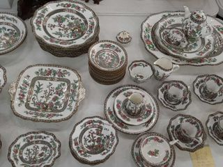 COAlPORT DISHES   54 PIECES   CUPS AND SAUCERS
