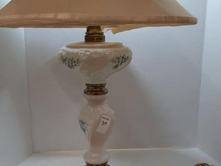 HANDPAINTED TABlE lAMP