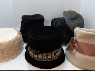 6  ASSORTED HATS