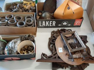 ASSORTED WOODWARE