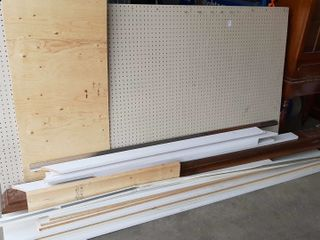 PEG BOARD AND BUIlDING MATERIAlS