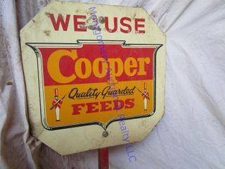 COOPER FEED SIGN