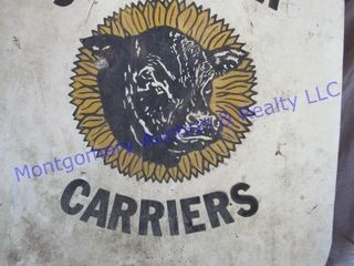 SUNFlOWER CARRIERS MUDFlAP