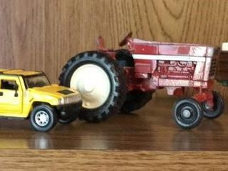 Die Cast Toy Trucks  Tractor  and Car