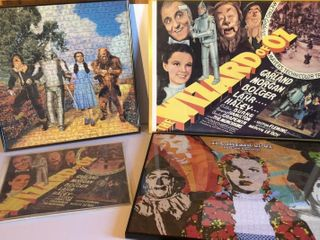 4  Wizard of Oz Posters and Puzzles