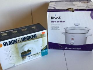 Slow Cooker and Can Opener