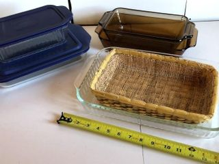 Pyrex and Anchor Pans