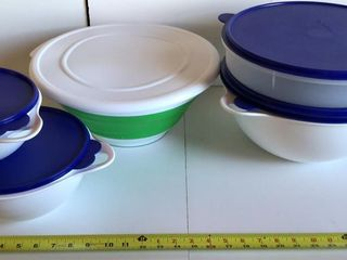 Tupperware and Pampered Chef Containers