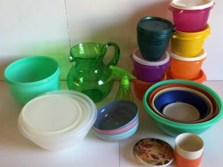 Tupperware Set and Other Storage