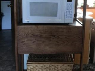 Wood Stand   Microwave