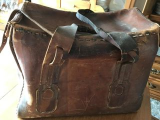 Stagecoach Vintage leather Mailbag