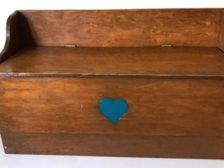 Handcrafted Toy Chest